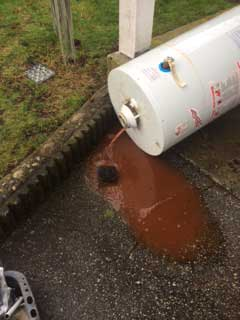 This Vancouver hot water tank replacement by DJ Plumbing and Heating