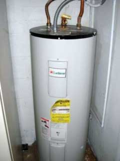 New hot water tank installation in Vancouver by DJ Plumbing