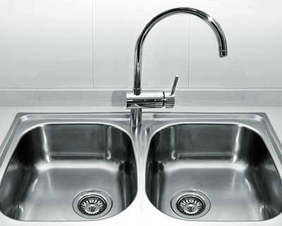Double kitchen sink upgrade.