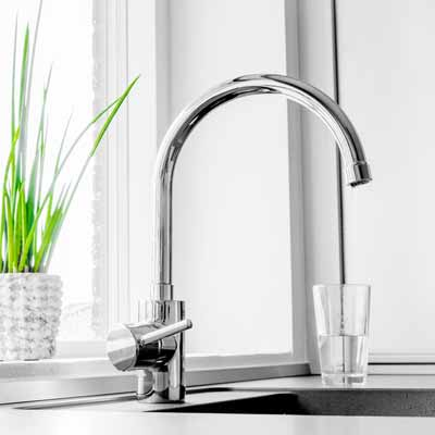 Modern Kitchen Faucet Installation by DJ Plumbing