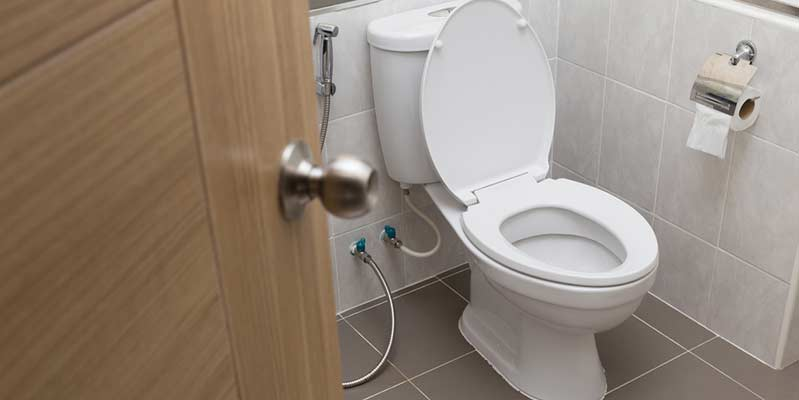 Newly installed toilet upgrade in Vancouver by DJ Plumbing