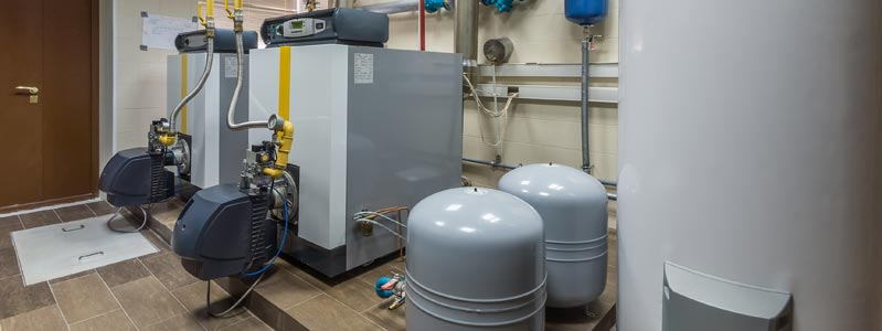Newly installed boiler system
